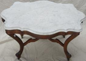 *VICTORIAN PARLOR TABLE