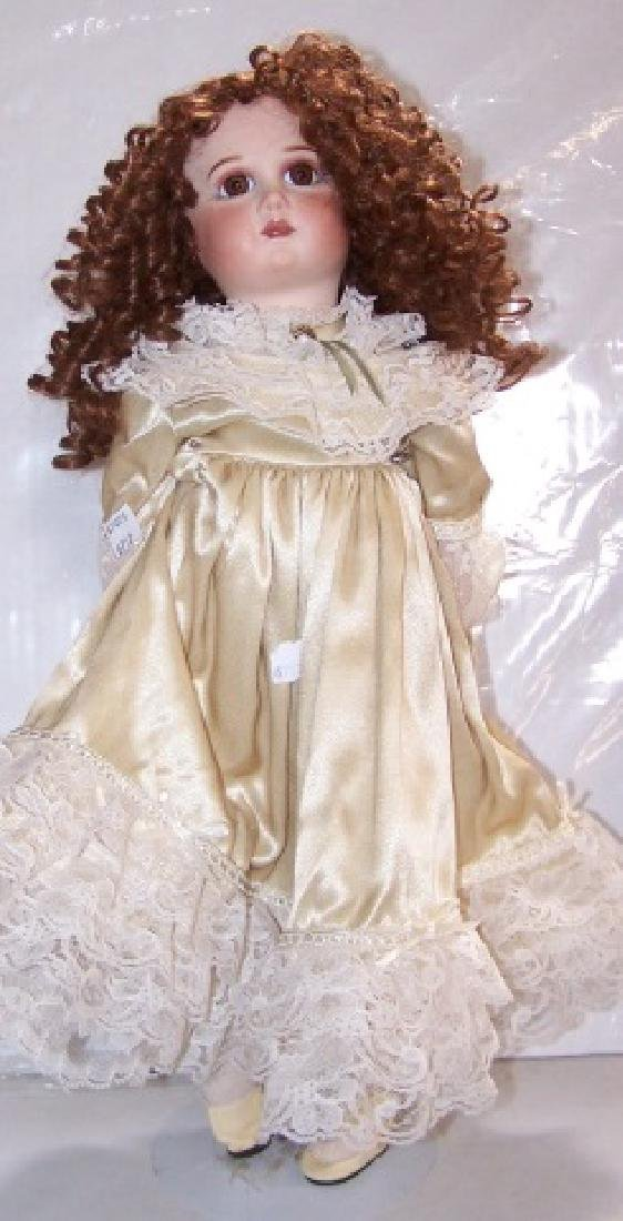 *CONTEMPORARY BISQUE HEAD DOLL