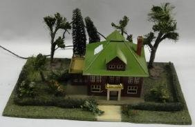 Model house train set