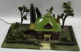 Model house train set