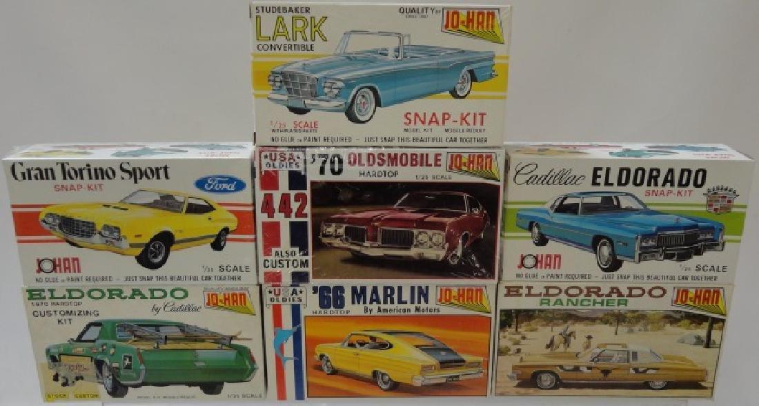 *7 JO-HAN MODEL CAR KITS