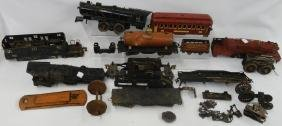 GROUP OF LIONEL STANDARD GAUGE TRAINS