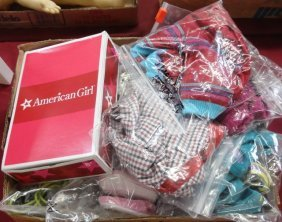 *GROUP OF AMERICAN GIRL DOLL CLOTHES
