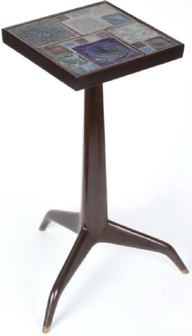 *EDWARD WORMLEY JANUS OCCASIONAL TABLE - 3