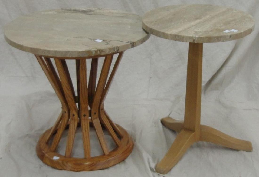 *2 CONTEMPORARY SIDE TABLES