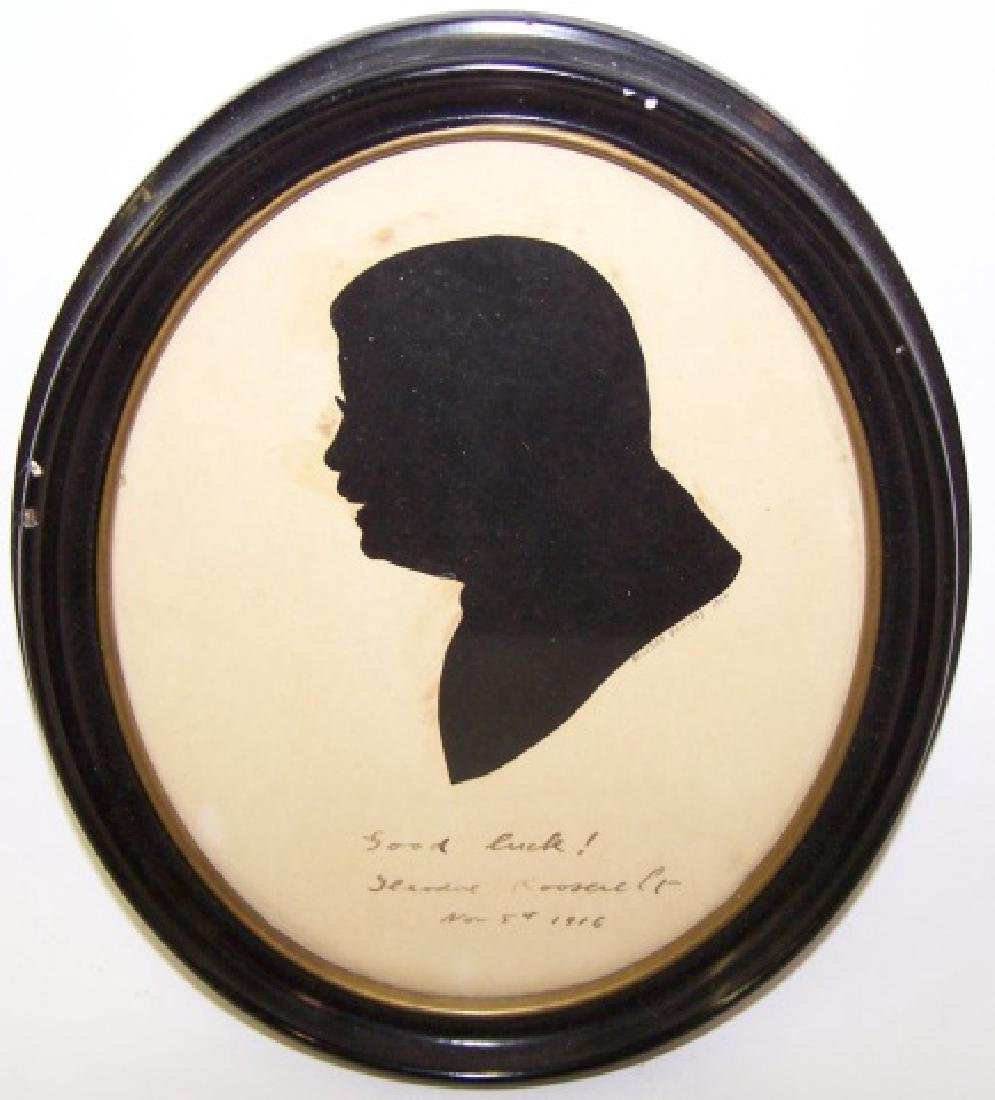 *SILHOUETTE OF THEODORE ROOSEVELT