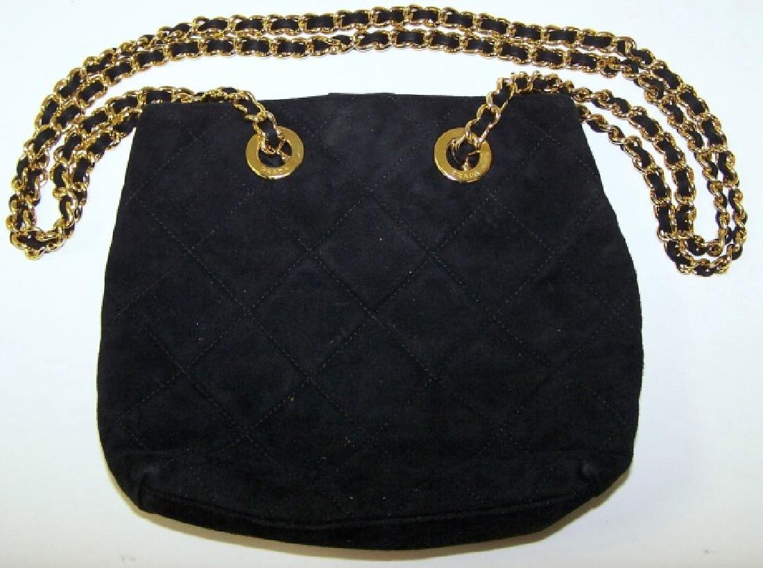 *BLACK PRADA SHOULDER BAG - 2
