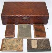 *GROUP OF 19TH C. BOOKS AND LEDGERS