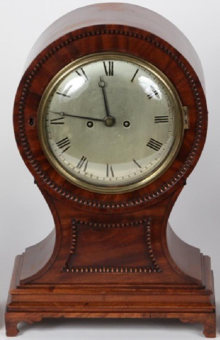 19TH C. MANTEL CLOCK