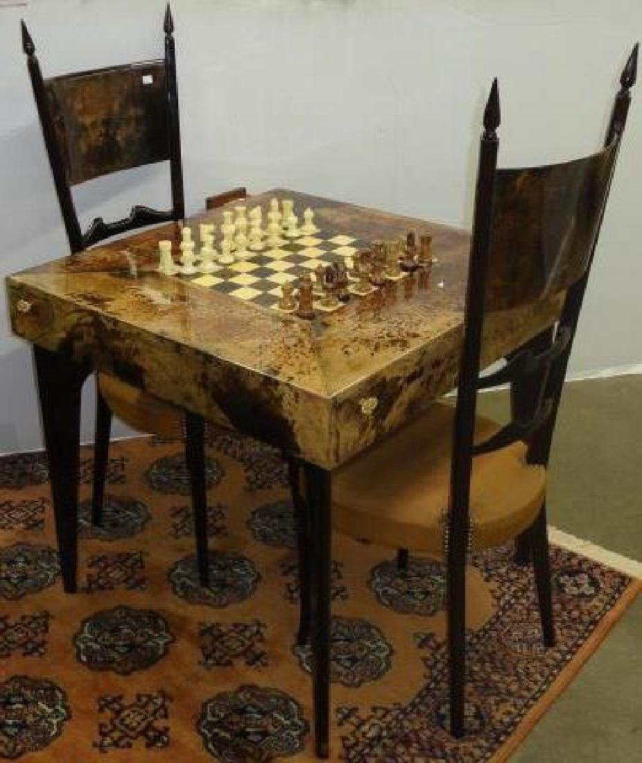 *ALDO TURA CHESS TABLE