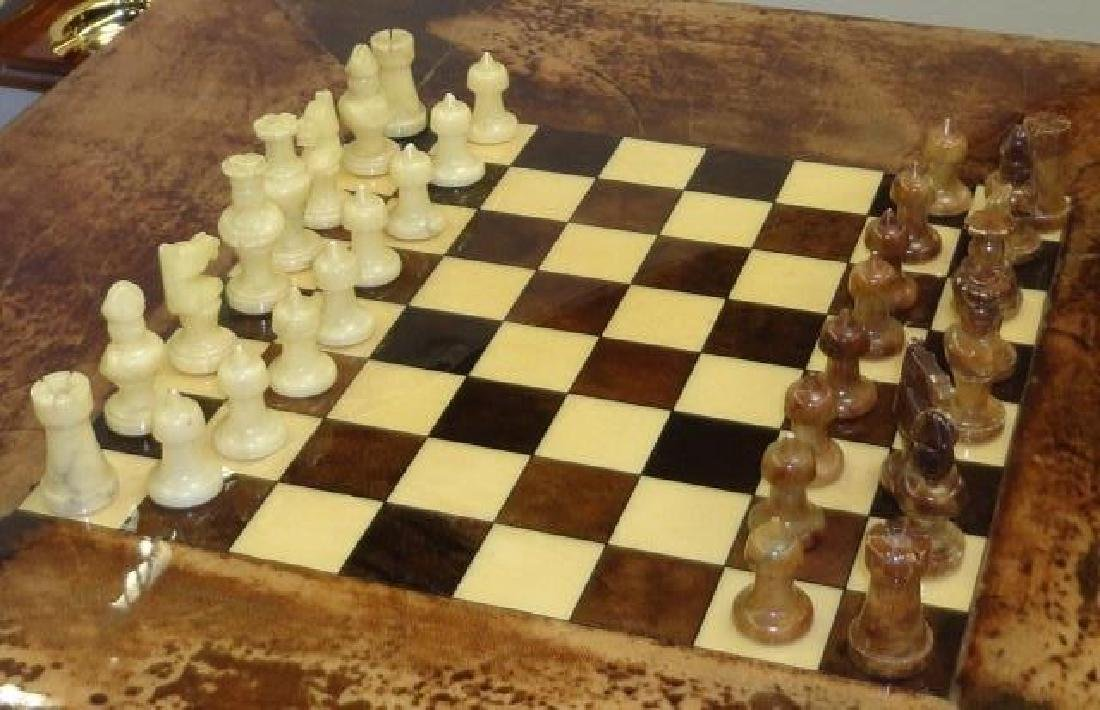 *ALDO TURA CHESS TABLE - 2