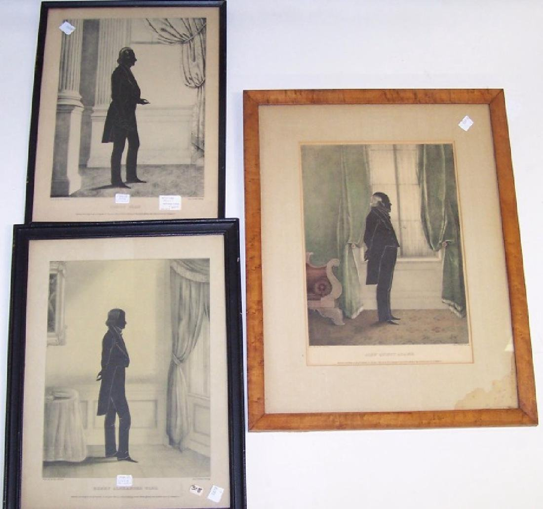 *3 ANTIQUE LITHOGRAPHS BY KELLOGG