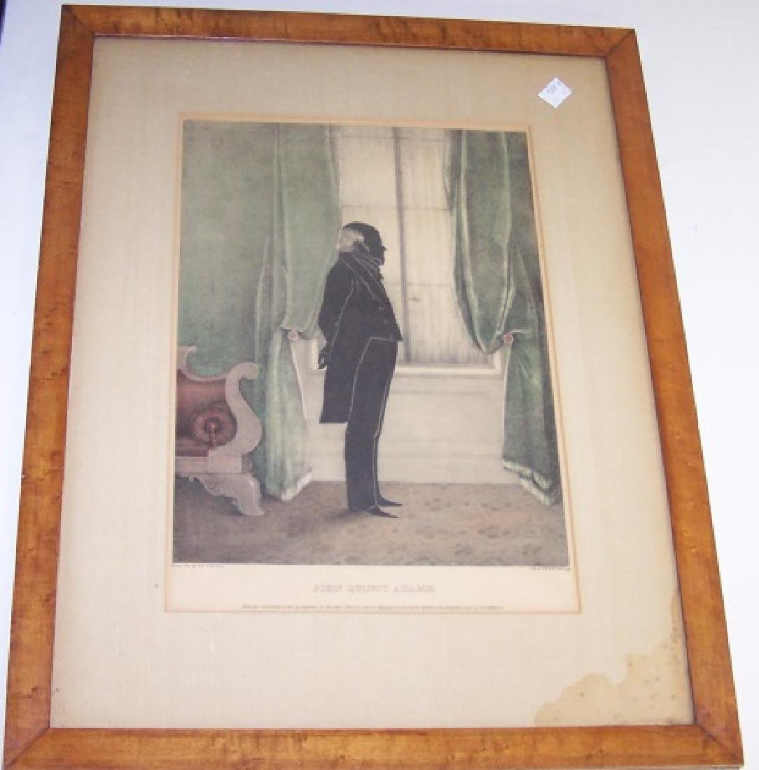 *3 ANTIQUE LITHOGRAPHS BY KELLOGG - 2