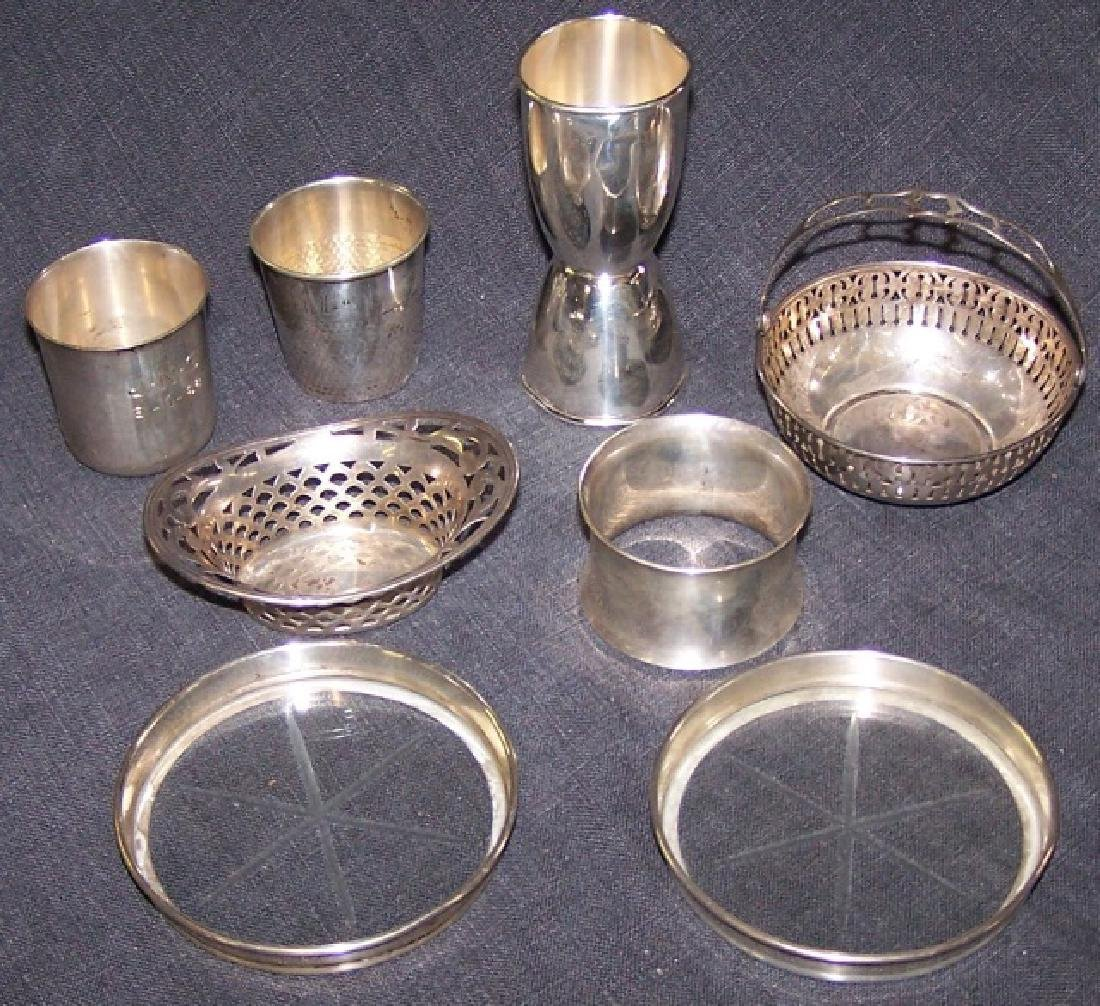 *8 PIECES OF STERLING SILVER