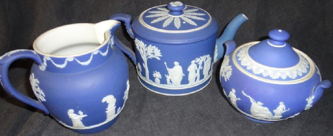 *3 PIECES OF WEDGWOOD POTTERY