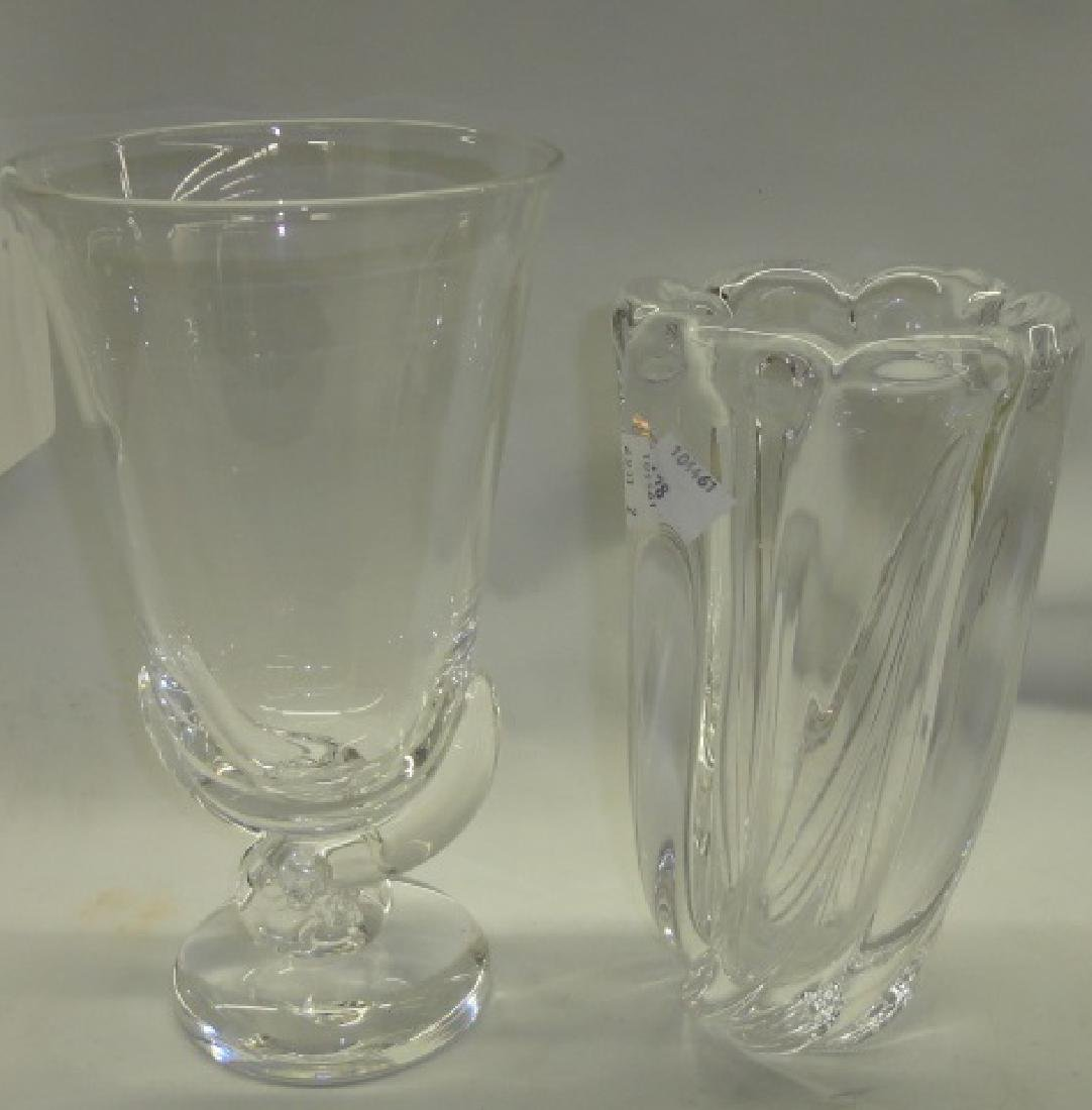 *2 PIECES OF ART GLASS
