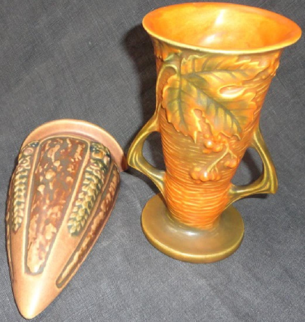 *2 PIECES OF ROSEVILLE ART POTTERY