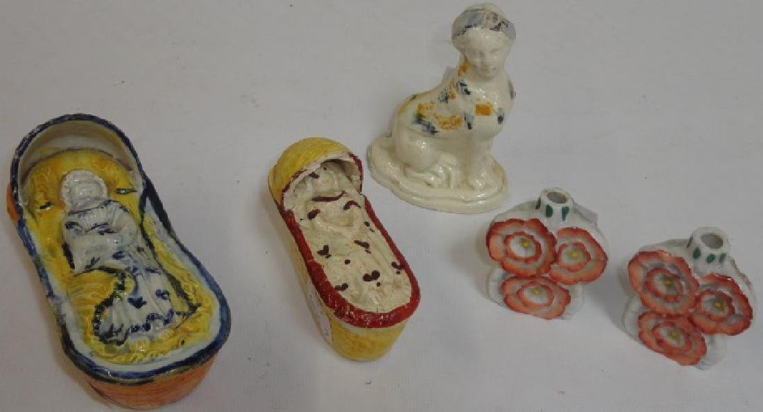 *5 PIECES OF STAFFORDSHIRE