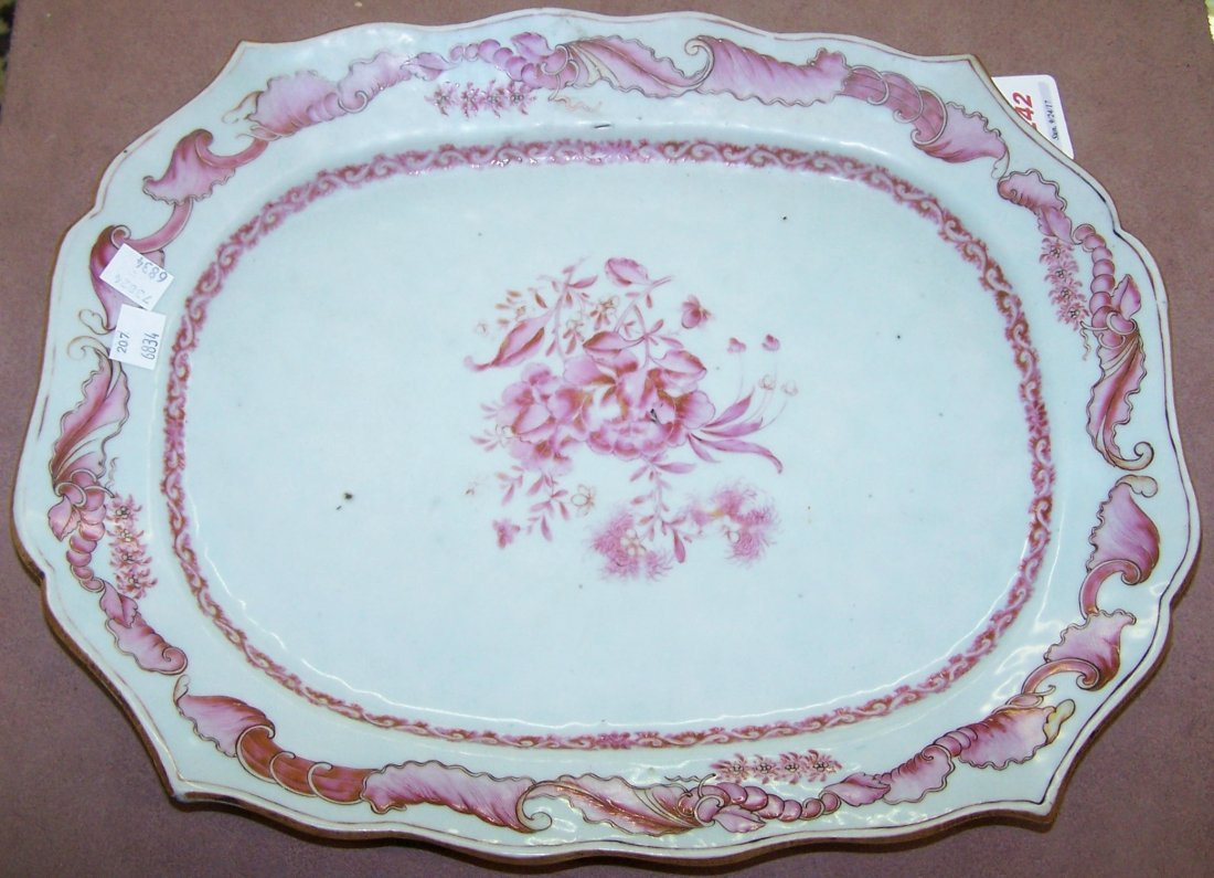 *CHINESE EXPORT PLATTER - 2