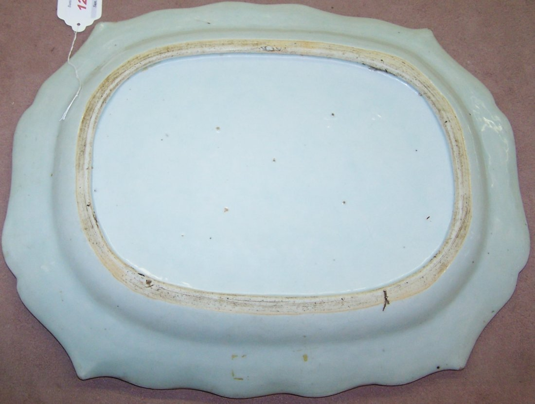 *CHINESE EXPORT PLATTER - 3