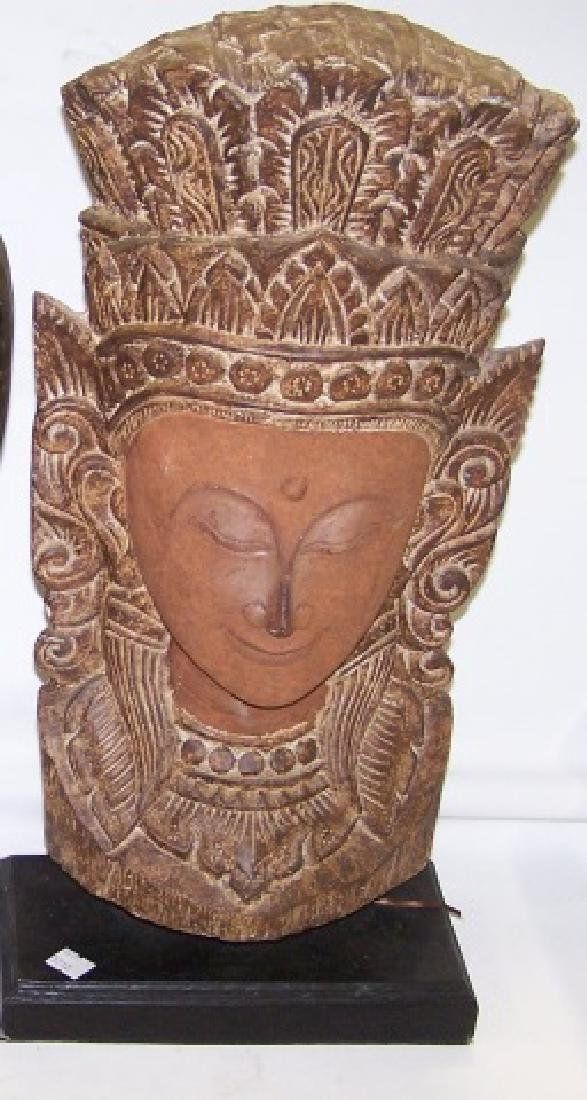 *CARVED ORIENTAL SCULPTURE