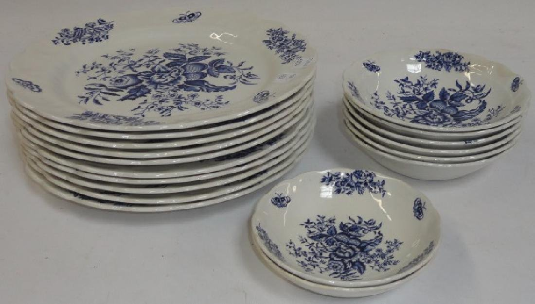 *GROUP OF BOOTHS DINNERWARE