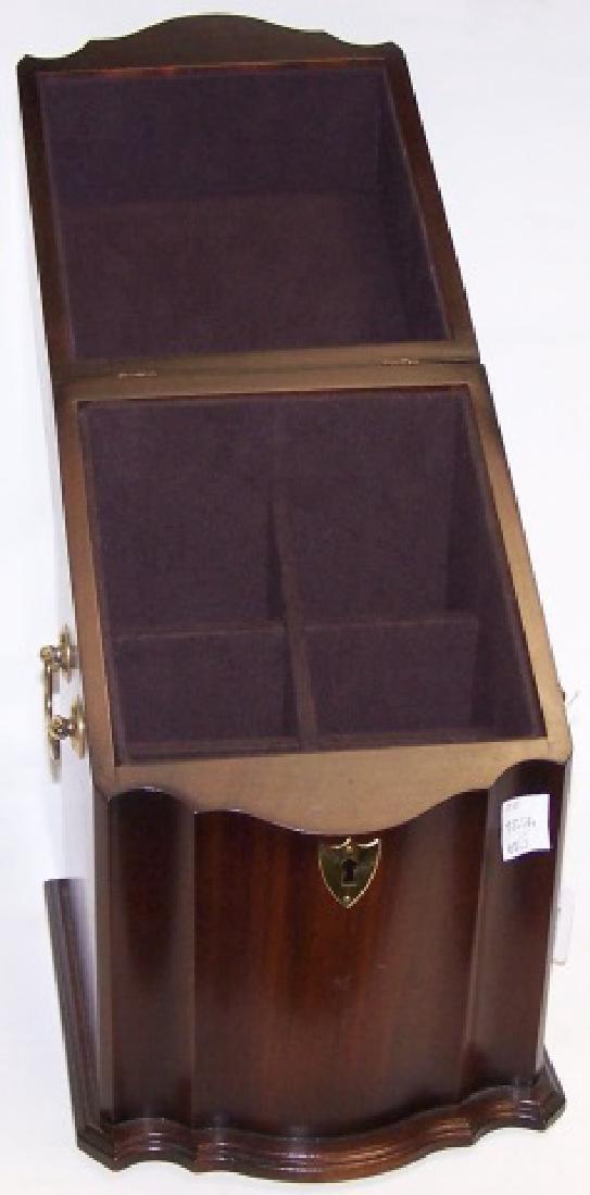 *GEORGIAN STYLE KNIFE BOX - 2