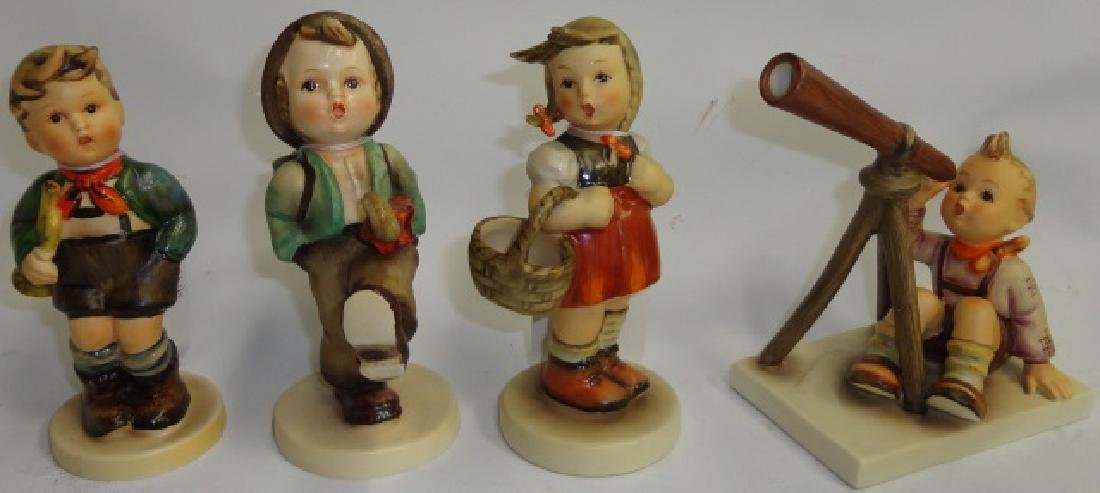 *4 HUMMEL FIGURINES