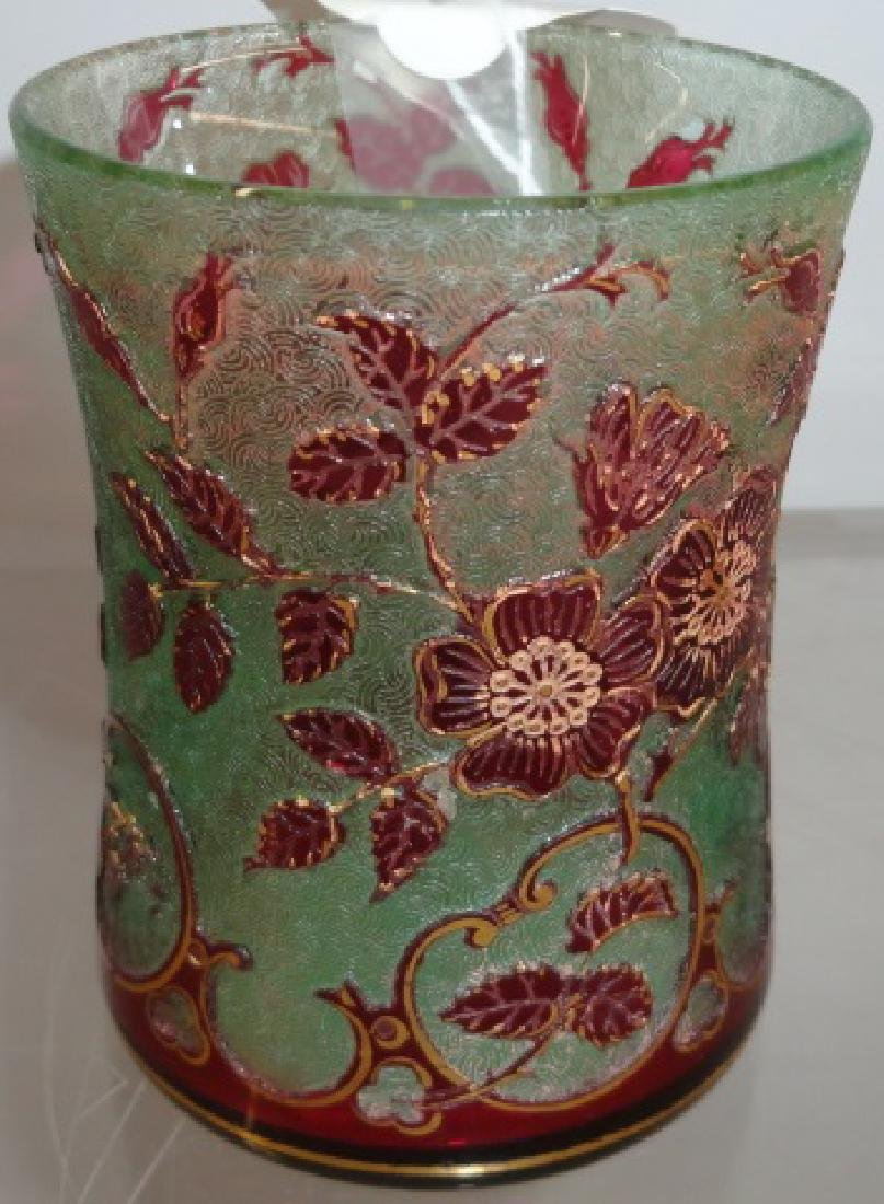 FRENCH CAMEO GLASS TUMBLER