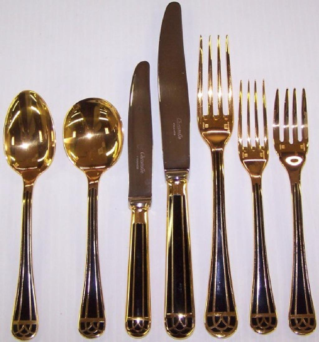 *156-PIECE SET OF CHRISTOFLE TALISMAN FLATWARE