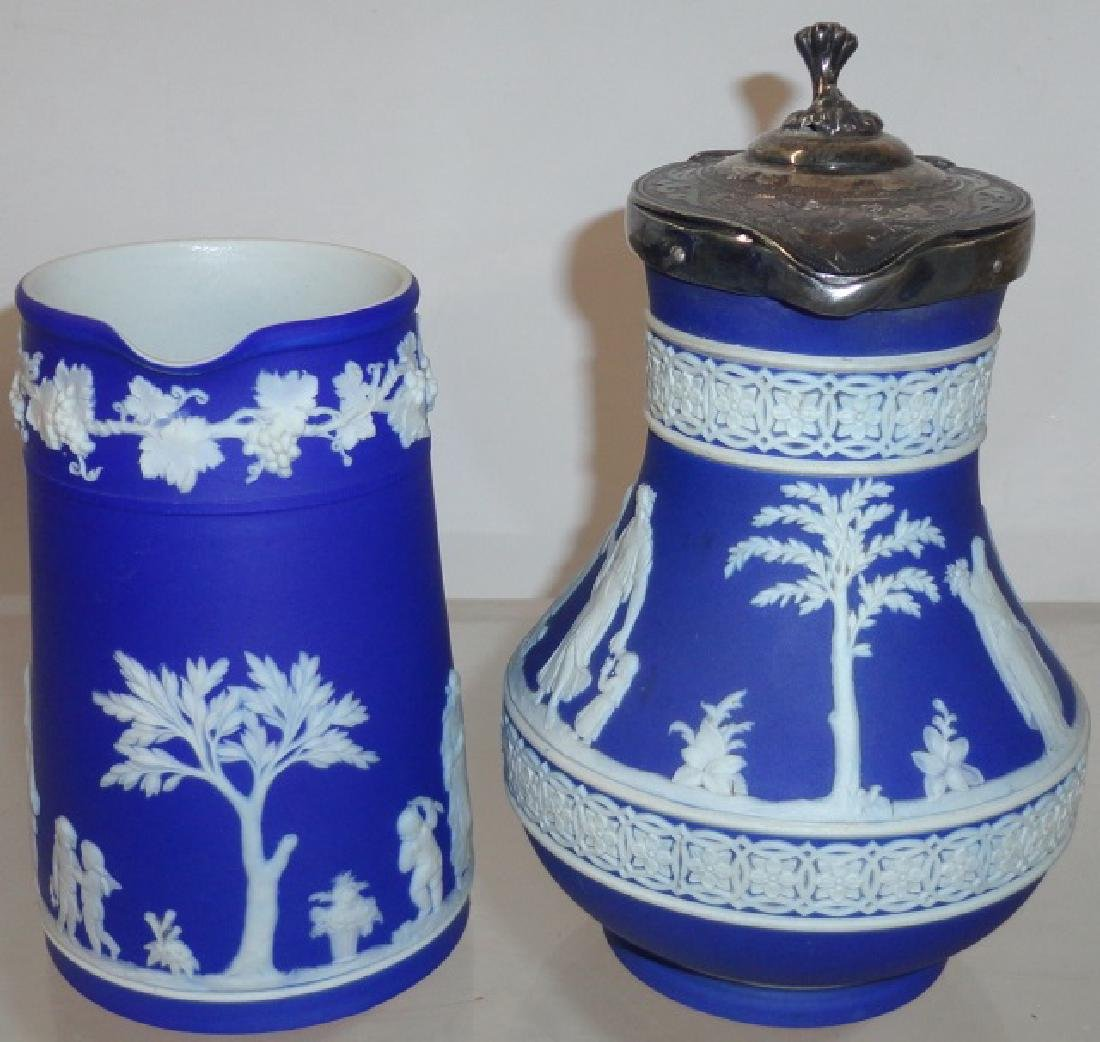 2 PIECES OF BLUE WEDGWOOD - 3