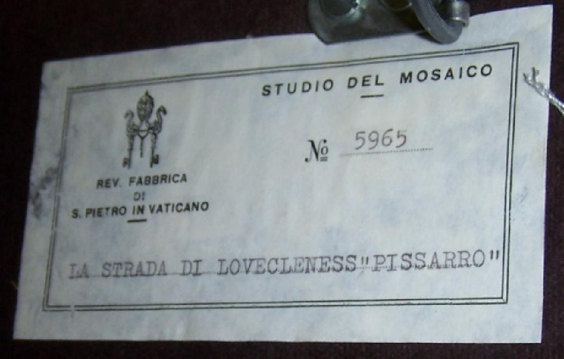 *VATICANO MOSAICO MICROMOSAIC STONE PANEL - 8
