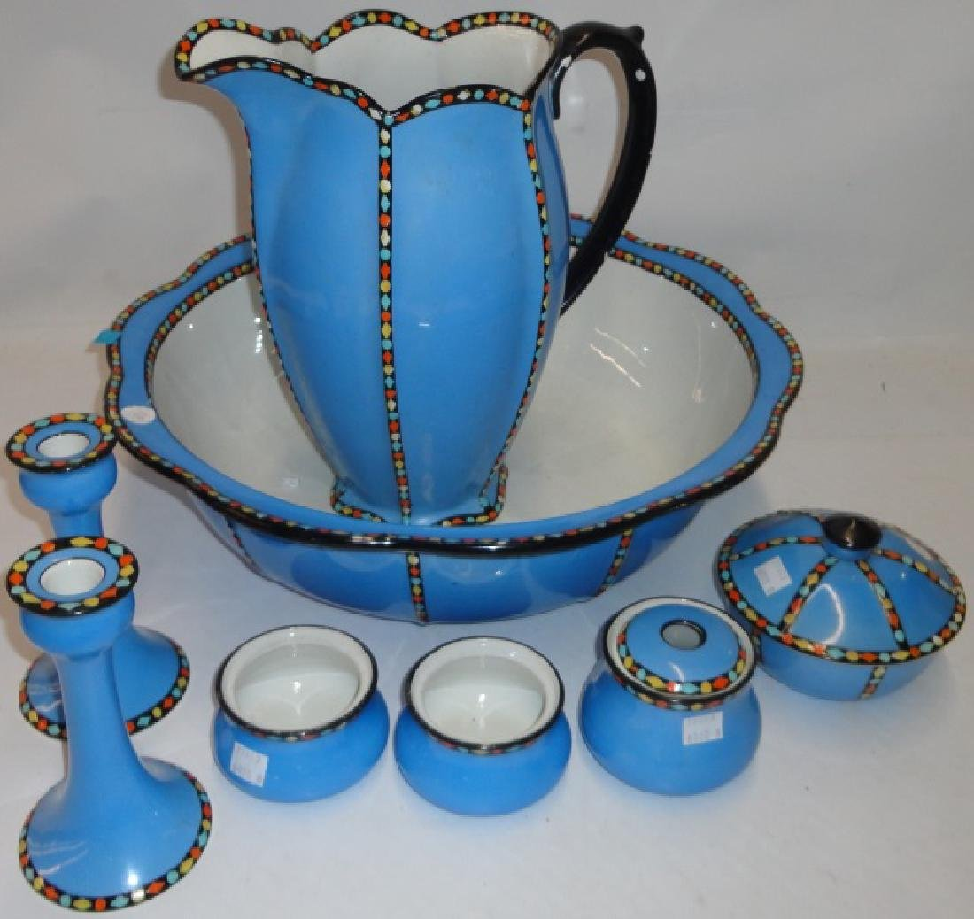 *8 PIECE PITCHER AND BOWL SET