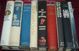 *9 FIRST EDITION BOOKS