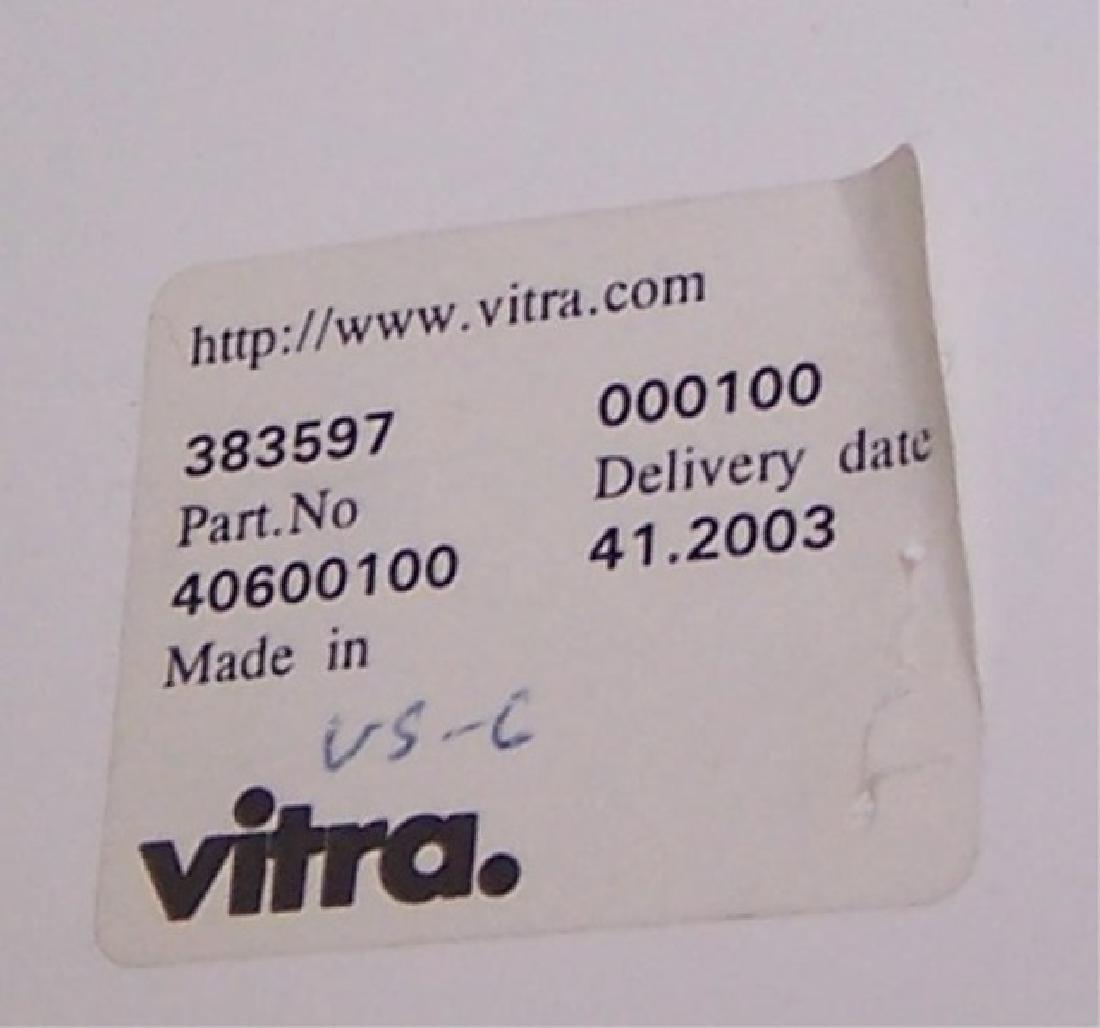 *SET OF 4 FIBER GLASS VITRA PANTON SIDE CHAIRS - 4