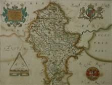 1355: SAXTON, CHRISTOPHER  (16th Century English) Antiq