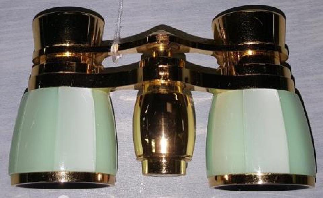 *PAIR OF BUSHNELL ENAMEL THEATER GLASSES