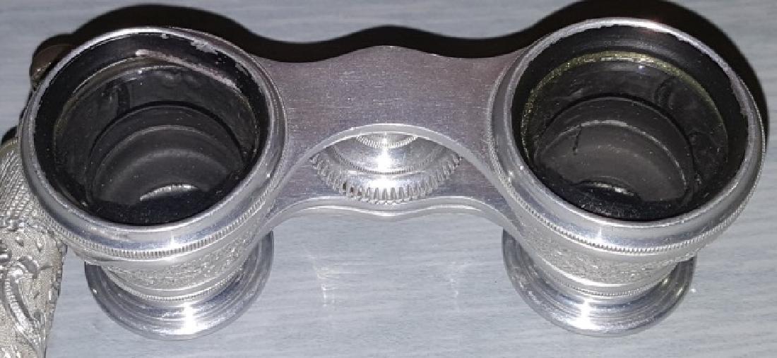 *PAIR OF RARE ALUMINUM OPERA GLASSES - 7