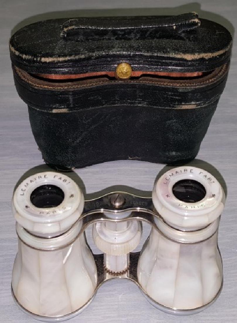 *PAIR OF MOTHER-OF-PEARL OPERA GLASSES - 8