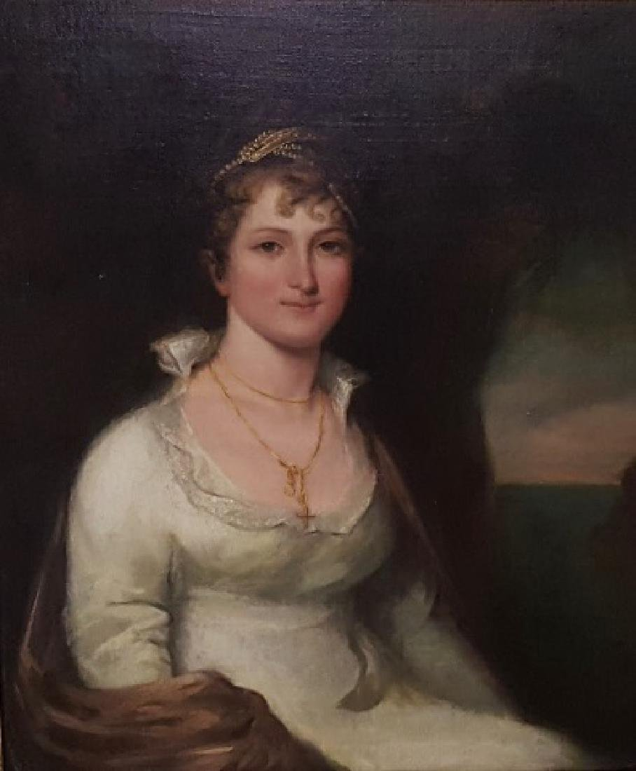 *ATTRIBUTED TO SIR WILLIAM BEECHEY - 2