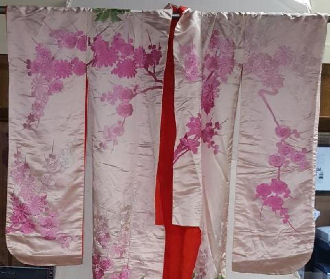 *VINTAGE JAPANESE SILK KIMONO - 2