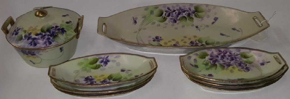*9 PIECES OF NIPPON PORCELAIN