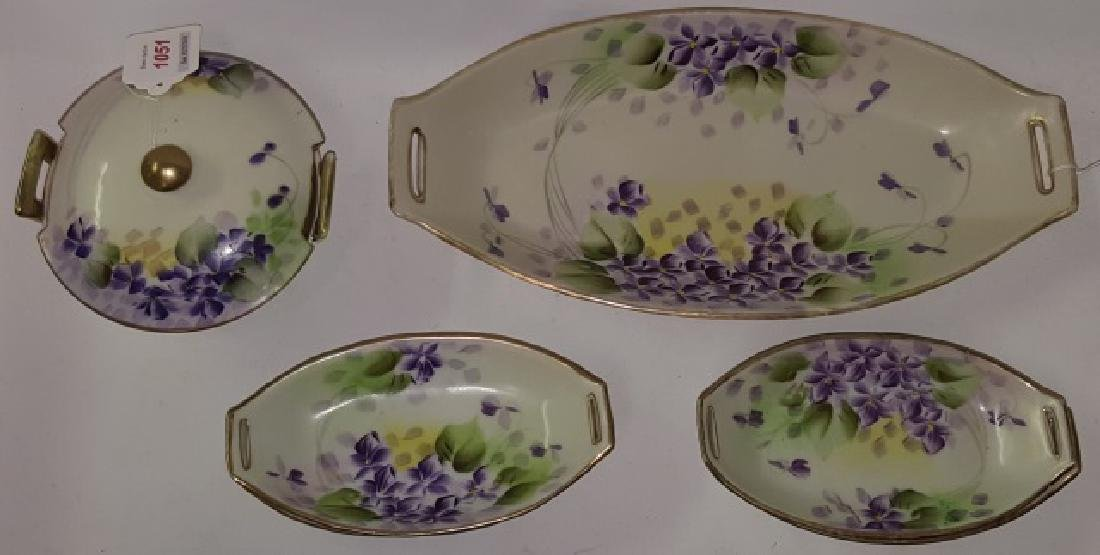 *9 PIECES OF NIPPON PORCELAIN - 2