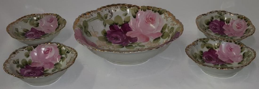 *5-PIECE NIPPON PORCELAIN BERRY SET - 2