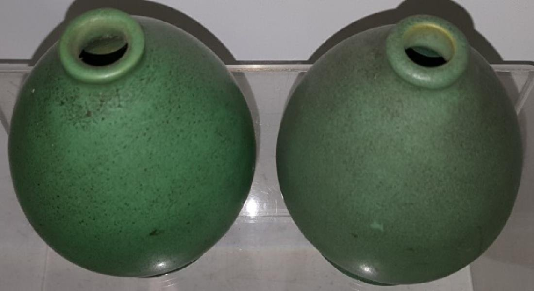*2 TECO ART POTTERY VASES - 2