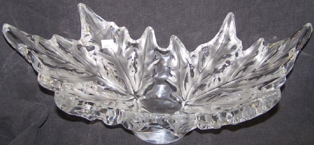 *LALIQUE ART GLASS BOWL