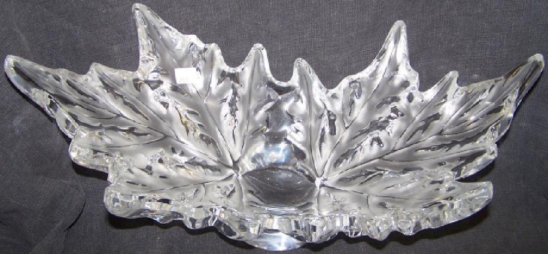 *LALIQUE ART GLASS BOWL - 2