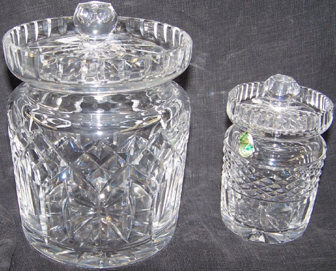 *2 PIECES OF WATERFORD CRYSTAL