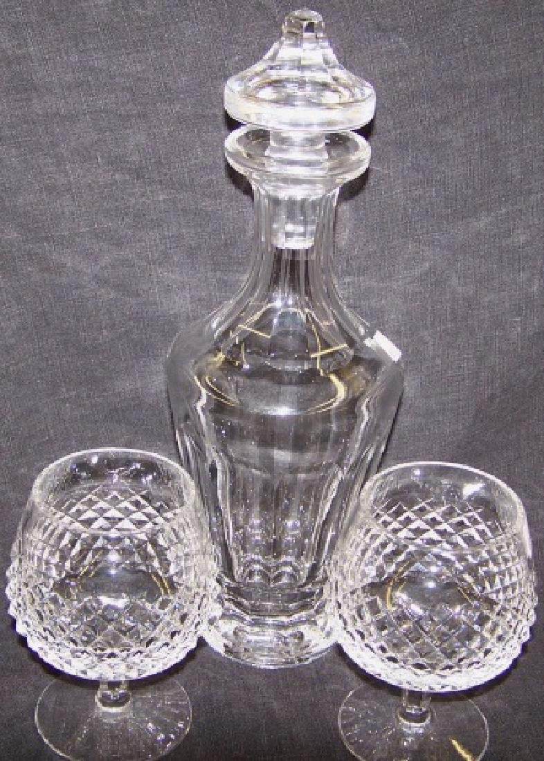 *3 PIECES OF WATERFORD CRYSTAL