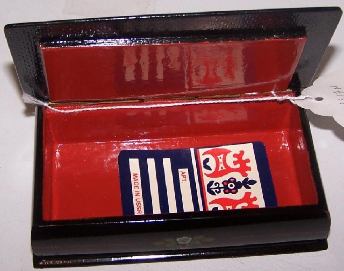 RUSSIAN LACQUER BOX - 3